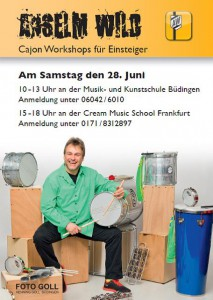 Cajon Workshop Anselm Wild
